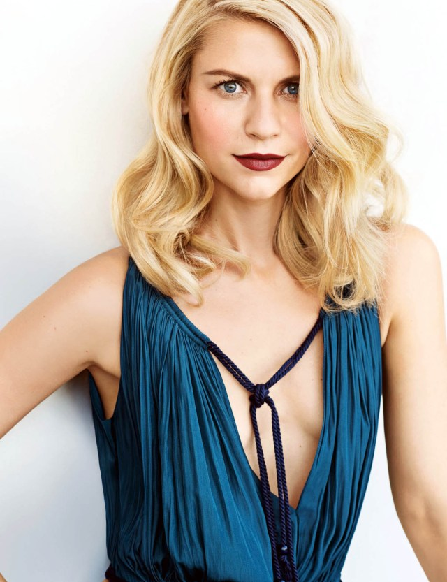 claire danes hot cleavage
