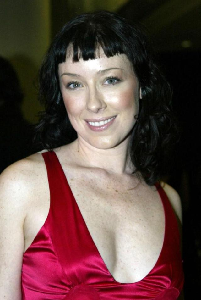 molly parker hot cleavage