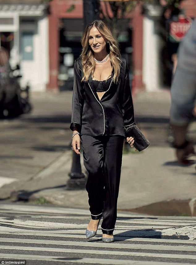 sarah jessica parker on the road