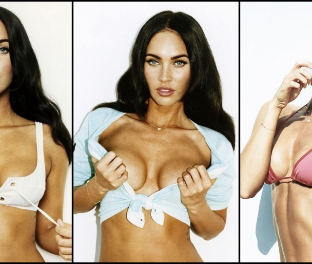 Sexy Megan Fox Boobs Pictures Are Just Heavenly To Watch