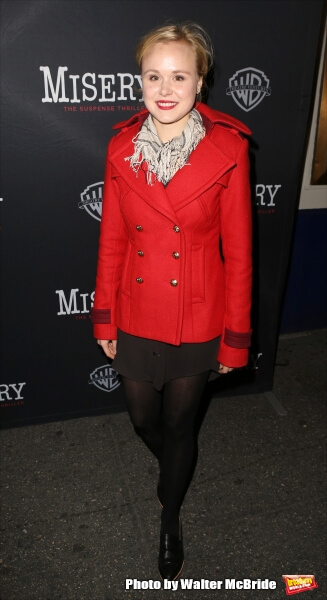 Alison Pill awesome red dress