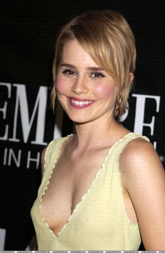 Alison Pill sexy cleavage