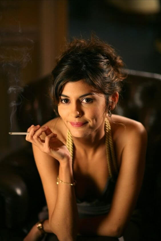 Audrey Tautou hot cleavage