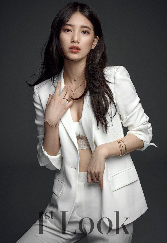 Bae Suzy Hot in Official Dress
