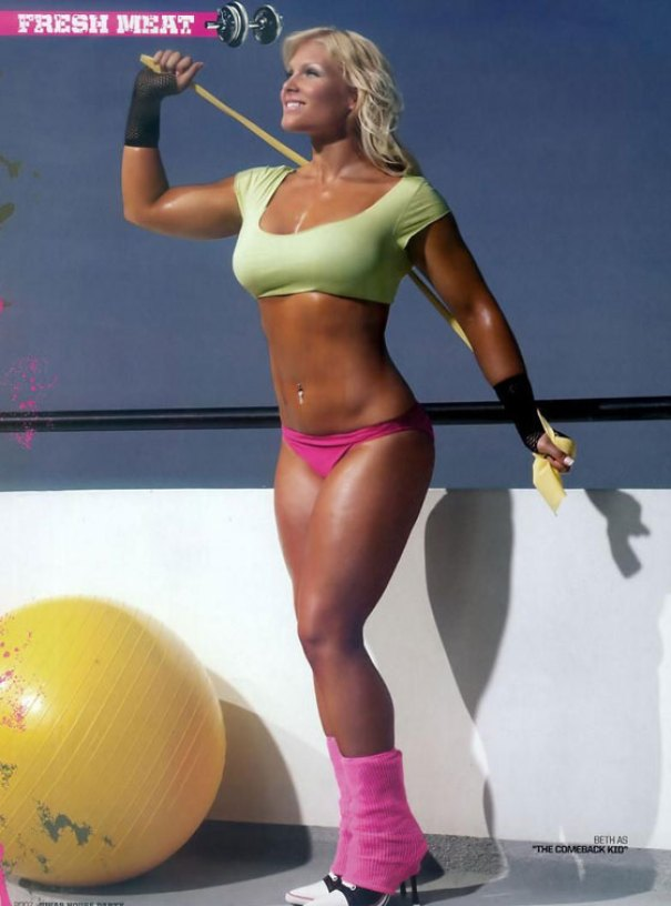 Beth Phoenix hot and sexy