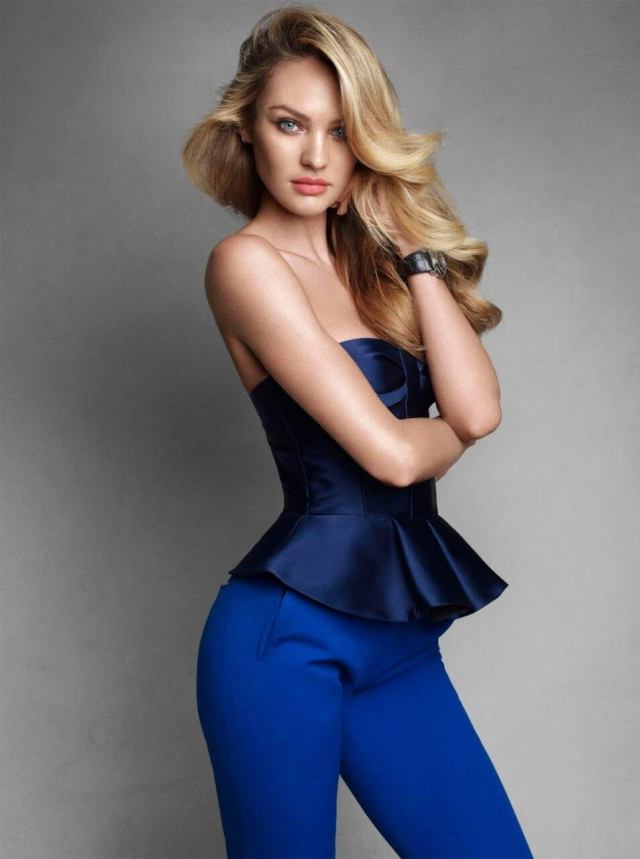 Candice Swanepoel hot dress