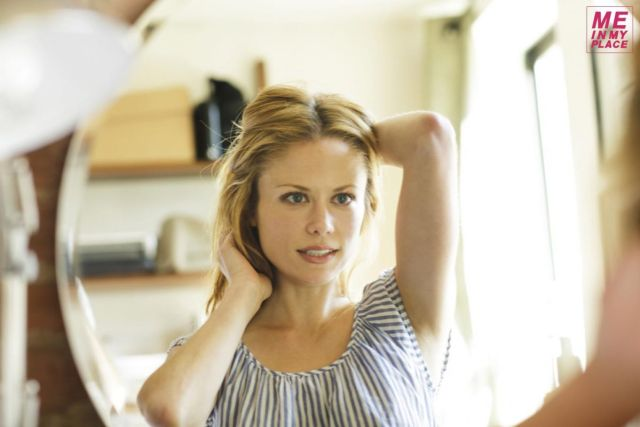 Claire Coffee hot pose