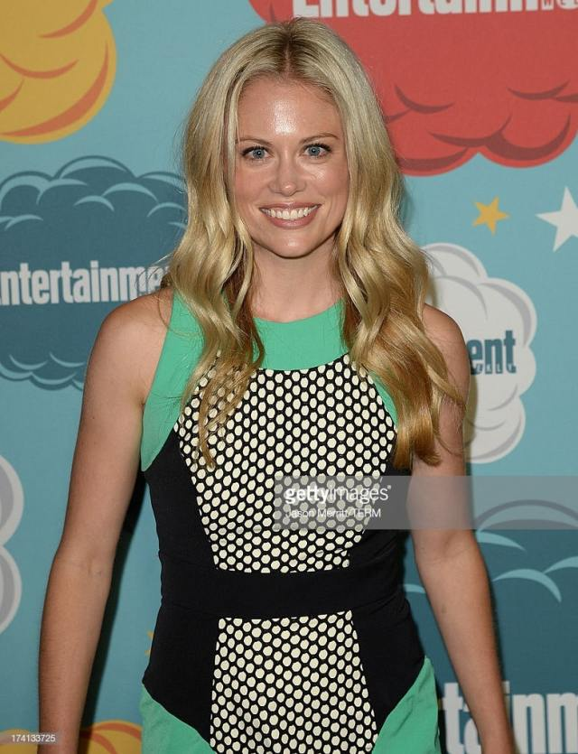 Claire Coffee sexy smile
