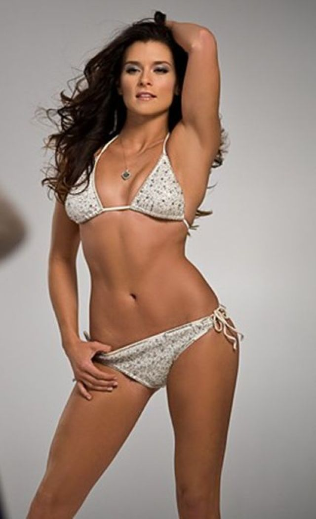 Danica Patrick cleavages awesome