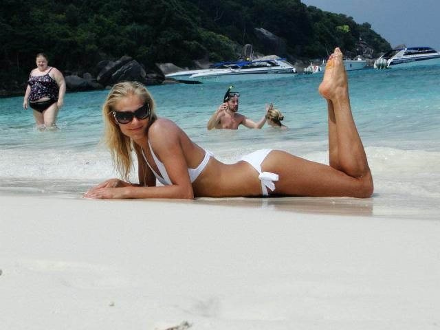 Darya Klishina sexy lady picture