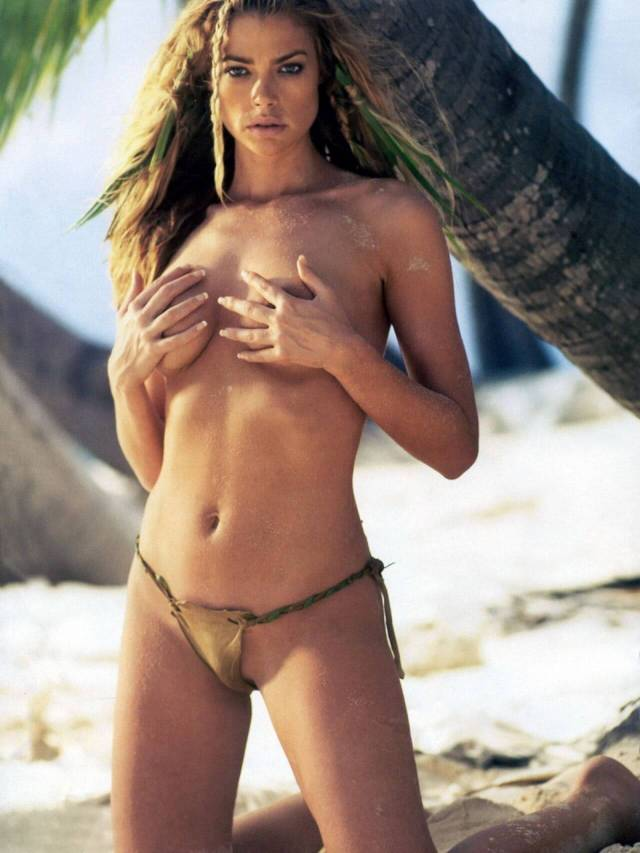 Denise Richards topless pic