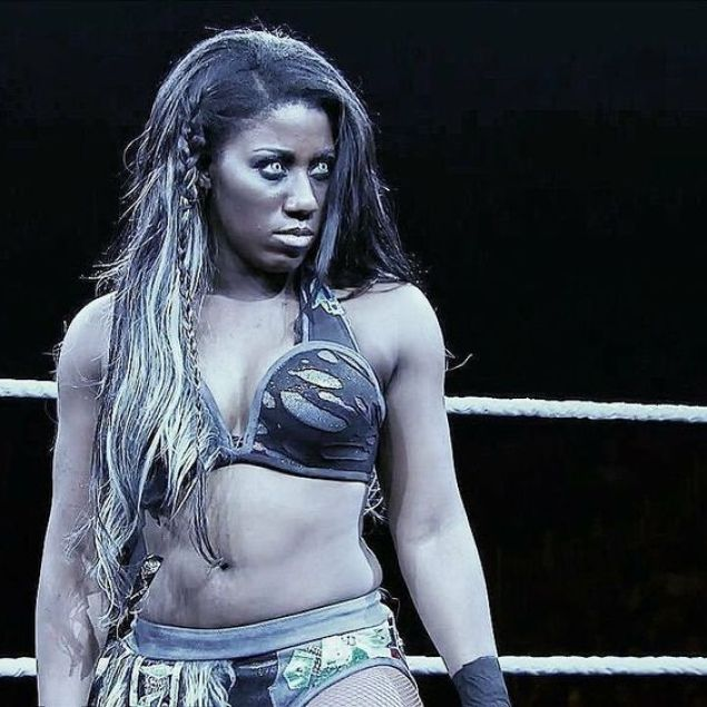 Ember Moon cleavages