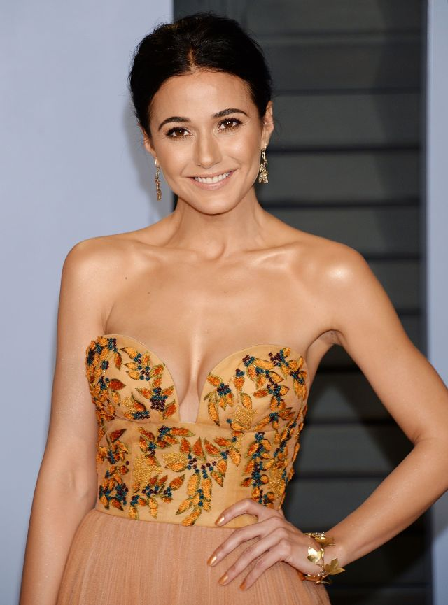 Emmanuelle Chriqui cleavages sexy pics