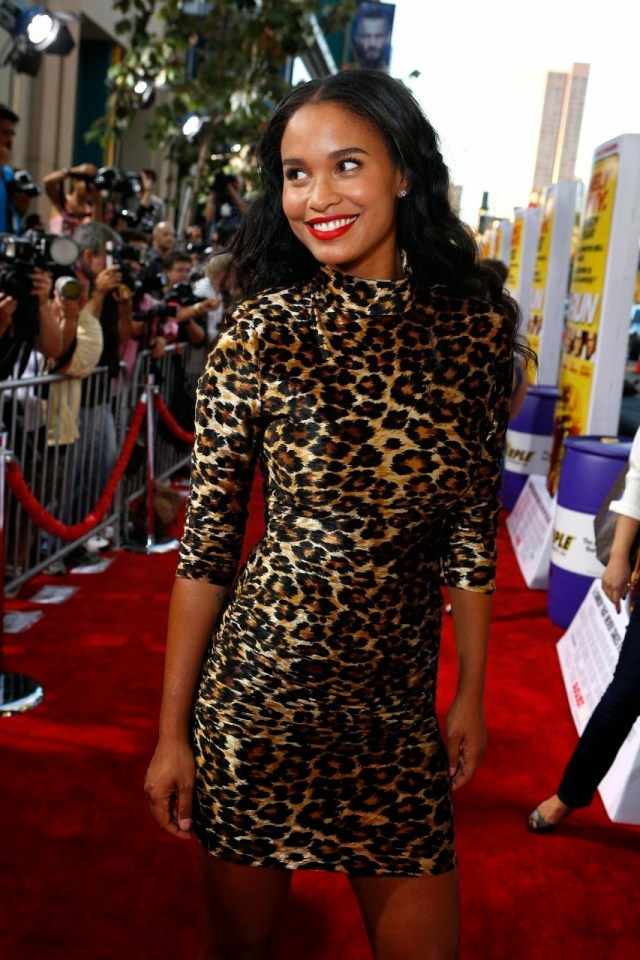 Joy Bryant on Red Carpet
