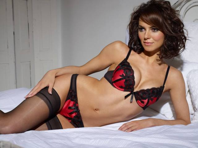 Kara Tointon sexy lingerie picture