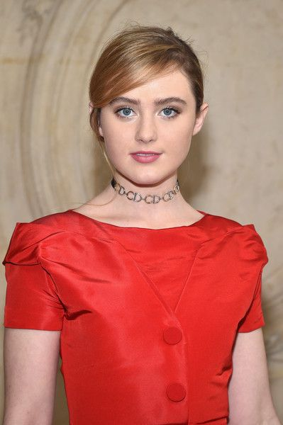 Kathryn Newton Hot in Red