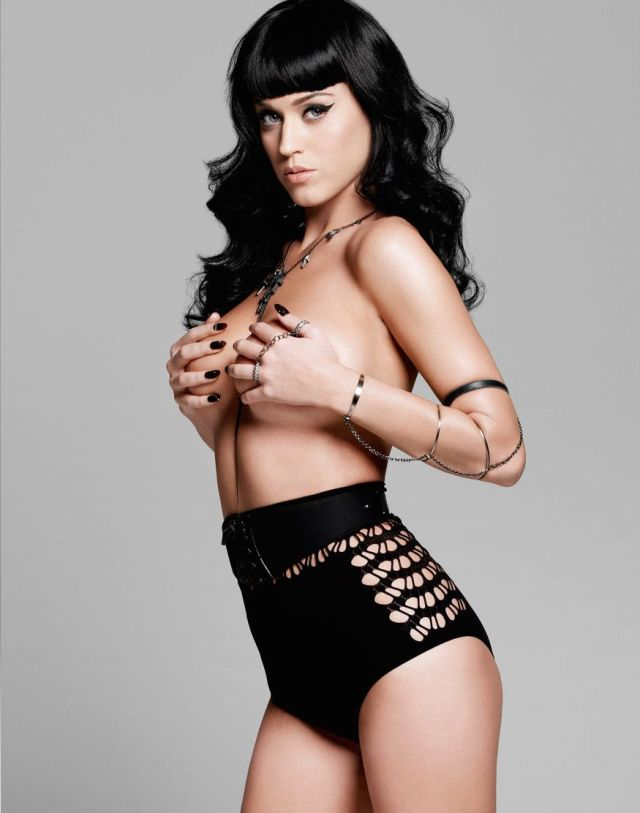 Katy Perry topless awesome