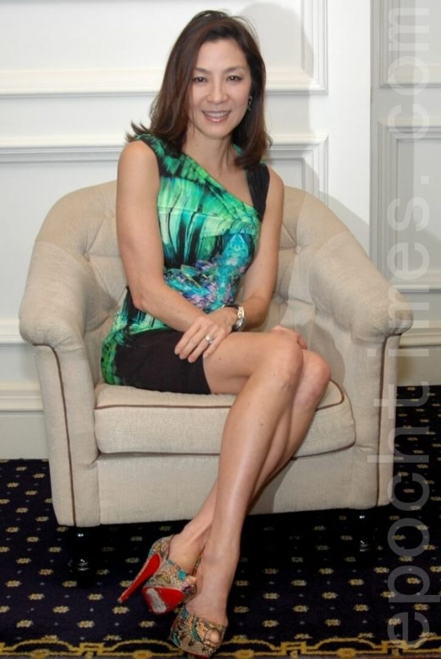 Michelle Yeoh awesome picture