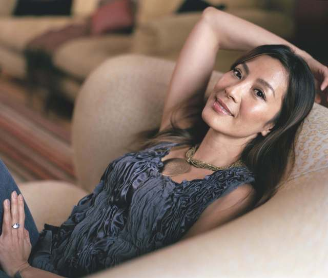 Michelle Yeoh Sexy Pose