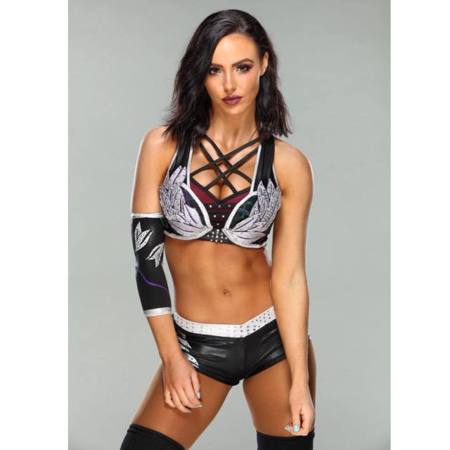 Peyton Royce Hot in WWE Divas Dress