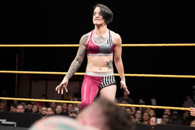 Ruby Riott hot cleavages