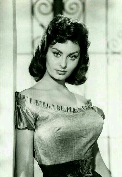 Sophia Loren Beautifull Hairstyle