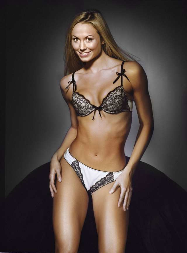 Stacey Keibler hot lingerie picture