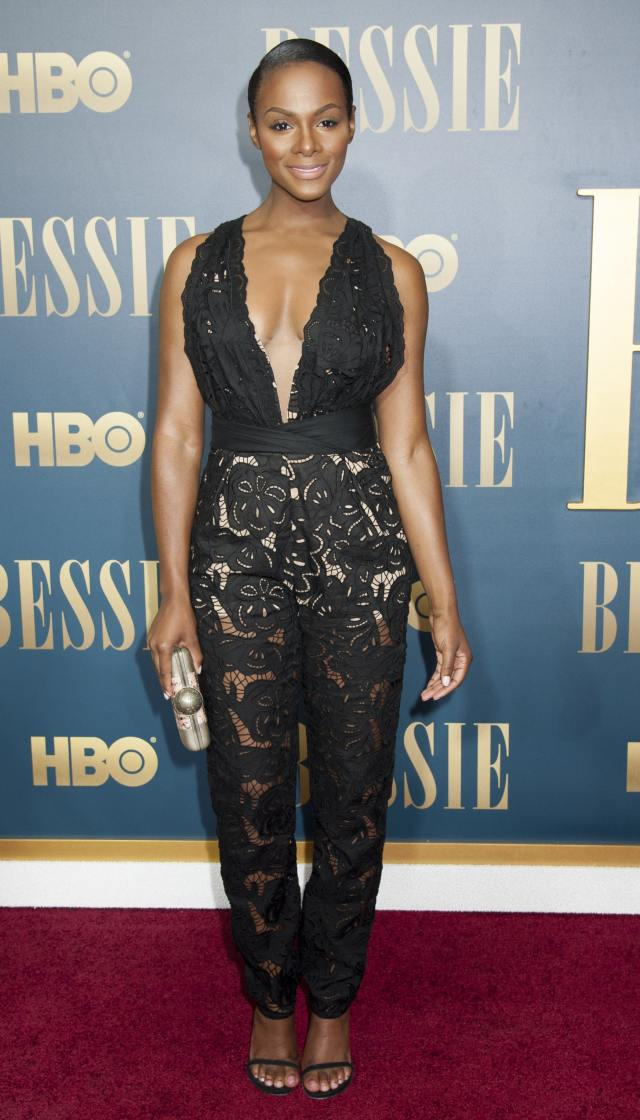 Tika Sumpter Hot in Black