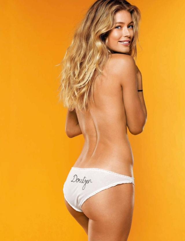 doutzen kroes hot back look