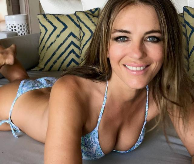 Sexiest Elizabeth Hurley Boobs Pictures Are Gift From God To Humans