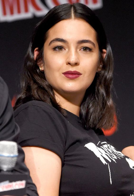 Alanna Masterson Red Lips