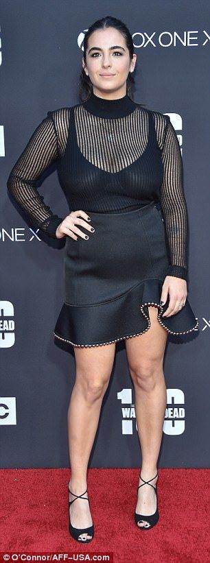 Alanna Masterson Red carpet Pics