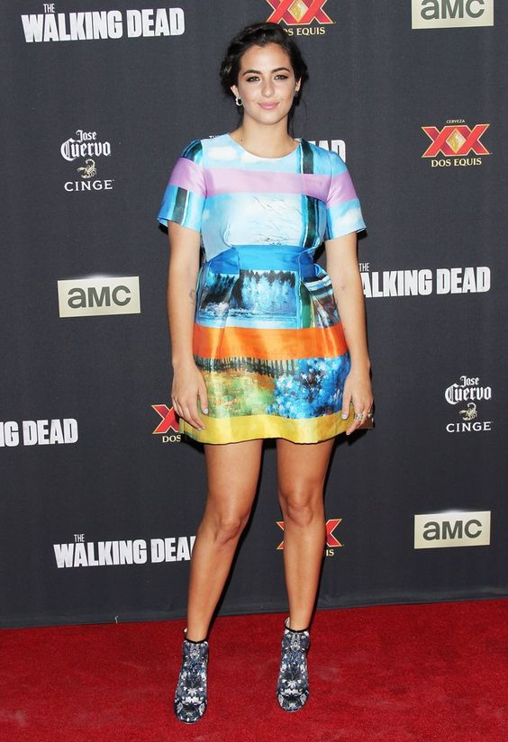 Alanna Masterson Red carpet