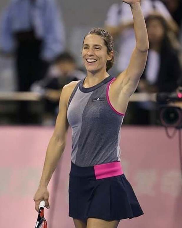 Andrea Petkovic hot thighs