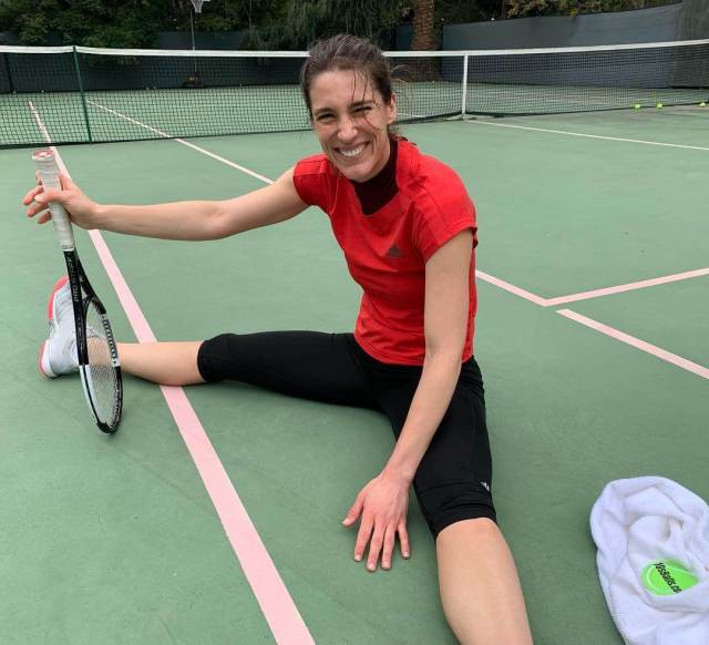 Andrea Petkovic thighs hot