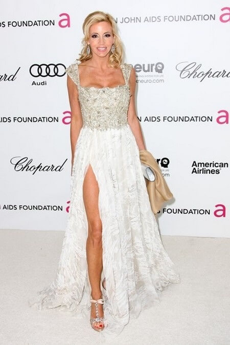 Camille Grammer feet hot pic