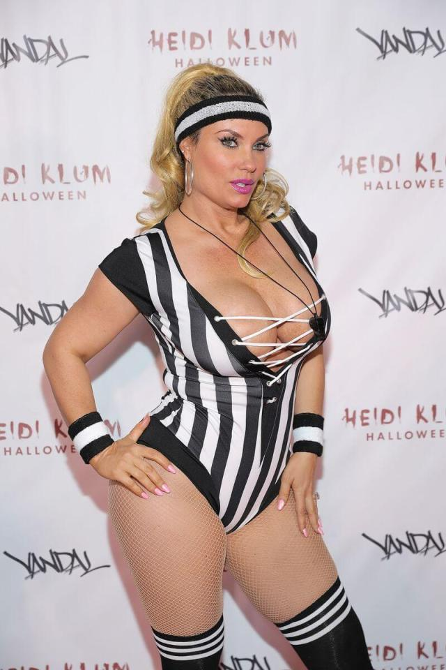 Coco Austin sexy cleavage