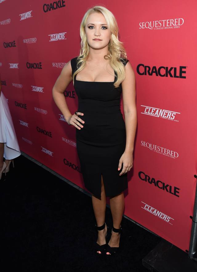 Emily Osment sexy cleavages picture