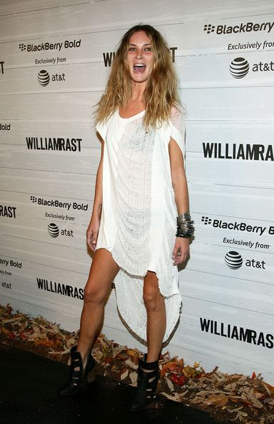 Erin Wasson Hot in Short Dress