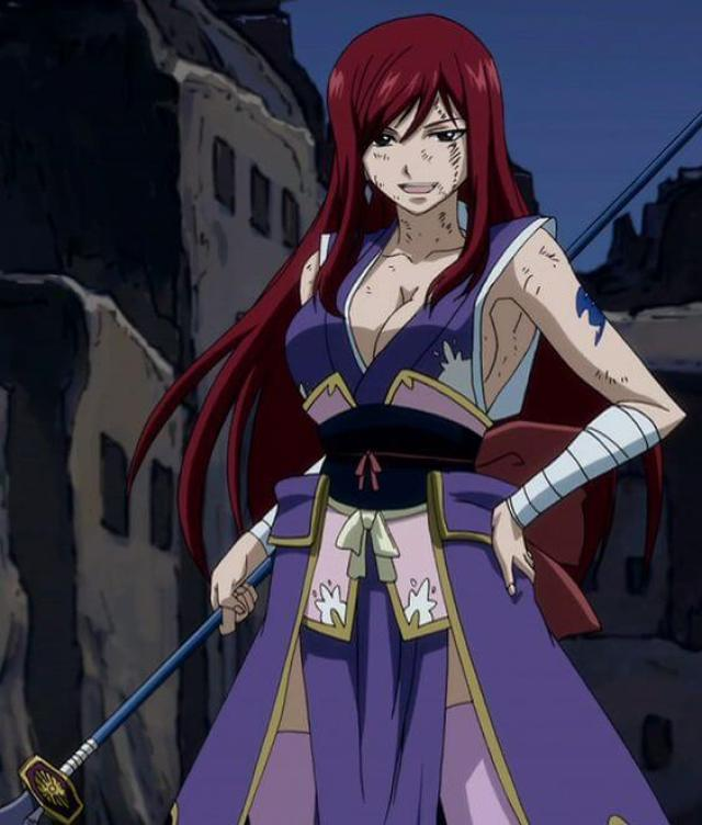 Erza Knightwalker sexy pictures