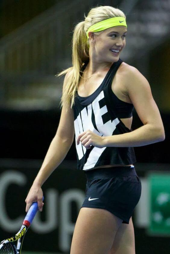 Eugenie Bouchard hot pictures