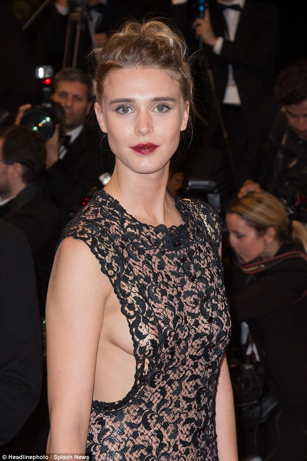 Gaia Weiss sexy and hot photo