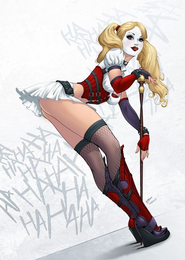 Harley Quinn hot and sexy