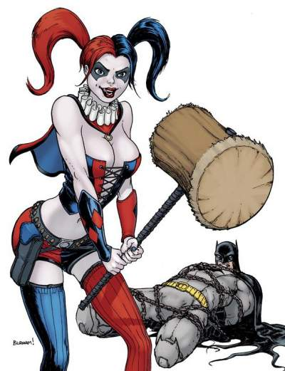 Harley Quinn sexy picture