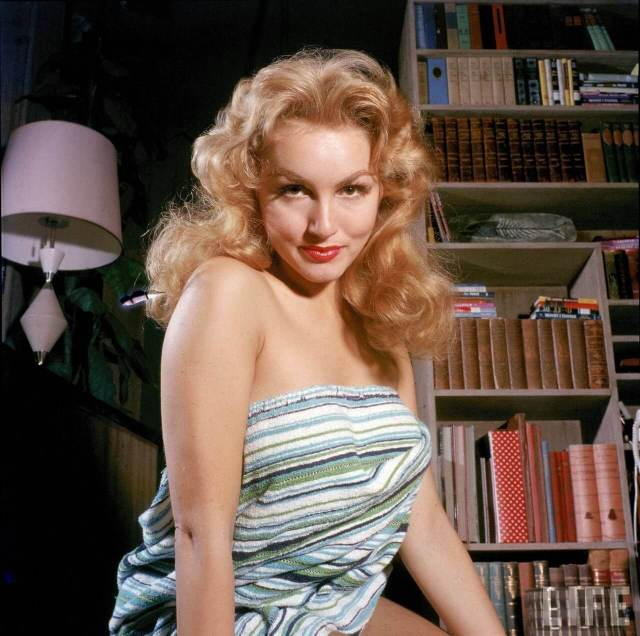Julie Newmar sexy cleavages pic