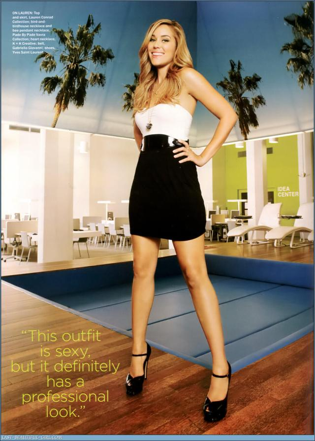 Lauren Conrad awesome