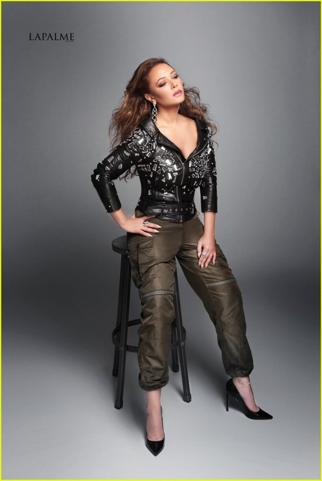 Leah Remini feet high heels