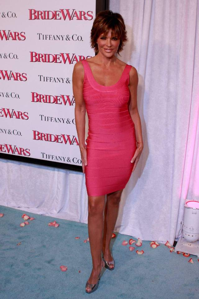 Lisa Rinna feet awesome