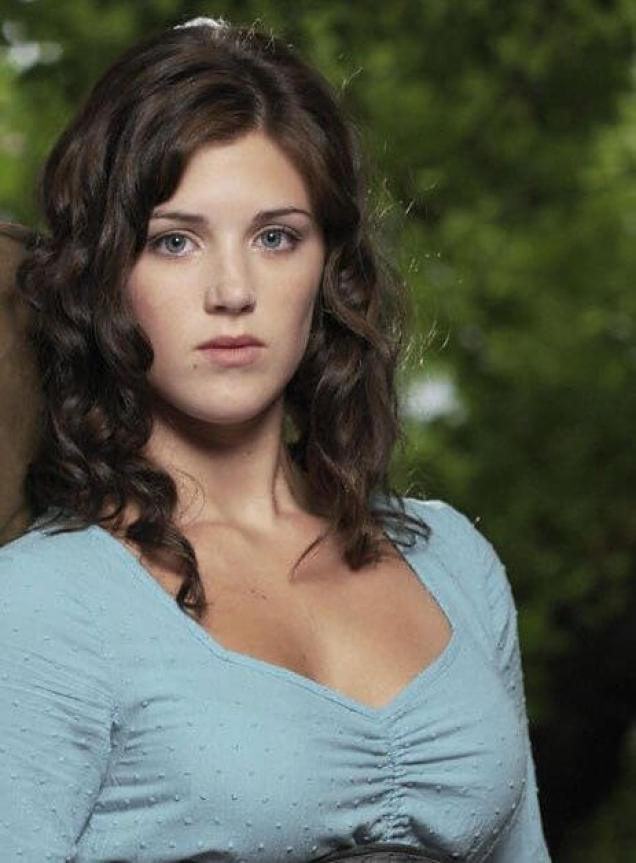 Lucy Griffiths cleavage