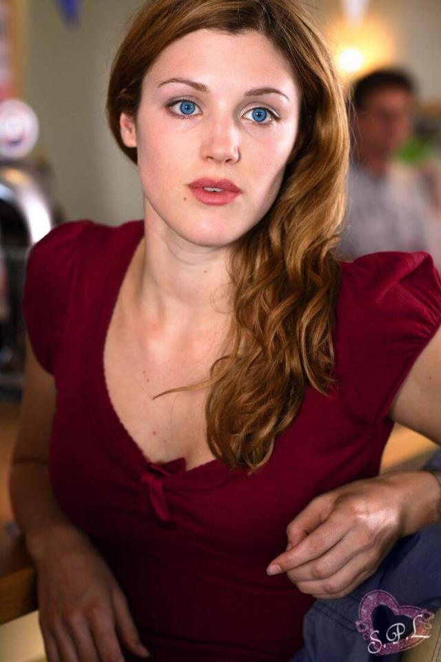 Lucy Griffiths sexy cleavage